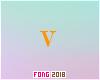 Fo. V Letter Orange