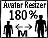 Avatar Scaler 180%