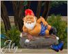 Blue Eden Garden Gnome