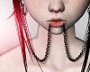 |< Lip Chain Black F
