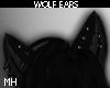 """桜 """" Dark Wolf Ears"""