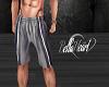 Gray Long Shorts