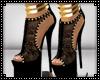 Black Gold Heels
