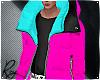 Neon Puff Coat 3