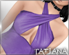 lTl Twisted Top Violet