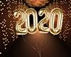 2020 Gold Balloons