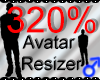 *M* Avatar Scaler 320%