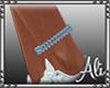 Blue Ankle Bracelet