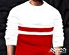 Red Stripe Sweater