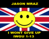 JasonMraz i wont give up