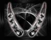 SkullHorns-White