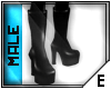 [E] PVC platform heels