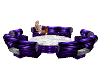 Sofa Club Purple PVC