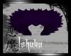 +Dark Purple Fur Collar+