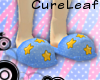 CL~ Starry Pj Slips -blu