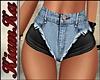 Shorts doble textura