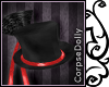 [c] Red glitter Tophat