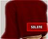 a MESHKI Red Sweater