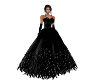 Black Feather Gown