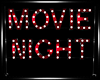 -J- Movie Marquee Stand