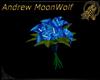 Wedding Bouquet blue