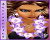 (1NA) Purple Pink Lei