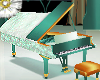 glass  ballroom piano
