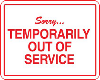 [Iz] out of service