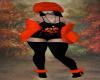Jack-o-Lantern Fur Hat