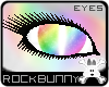 [rb] Rainbow Cat Eyes W