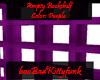 Empty Bookcase - Purple