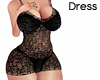 [Alu] Lace Dress Black