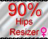*M* Hips Resizer 90%