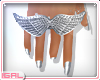 ►Silver Wings .Ring