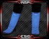 R: Custom Blue Kickpads