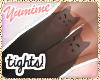 [Y] Meow Tights ~ Black