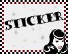 """® """"GOSH"""" sticker"""