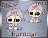 !a Green Winter Earrings