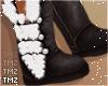 Kai Fur Boots -Black
