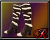 R1313 Zebra Skin Boots