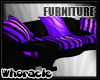 ✘Striped Couch | 4p