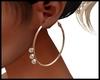 Amelia Cream Earrings