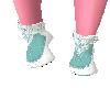 Doll Shoe Aqua