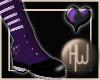 ~HW~ Amethyst Heart Boot