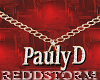 Pauly D Gold Chain Req