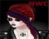 Red w/Purple&Sliver