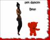 PET dancer bear