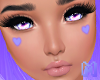 🅜 CANDY: heart lilac
