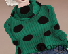 !A green sweater