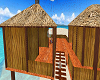 cute bamboo beach house